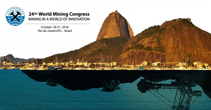 ANEPAC apoia o World Mining Congress 2016